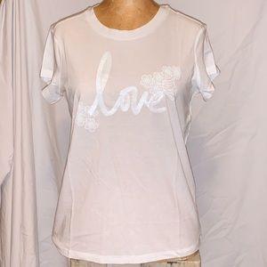 Victoria's Secret Love T-shirt - NWT